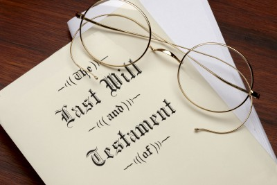 Wills and testaments, Glasgow, Scotland